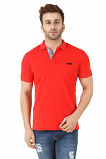 Spunk Mens Red Core Polo Tshirt (Core Polo-Red)