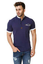 Spunk Mens Navy Pu Patch Polo Tshirt (Pu Patch Polo-Navy)