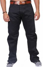 ROCAWEAR HERREN NON DENIM HOSE LOSE FIT R1608B402 BLACK
