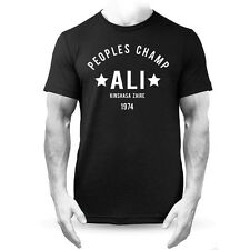Muhammad Ali Champion Rumble In The Jungle Boxeo Negra Camiseta