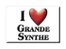 MAGNETS FRANCE - AQUITAINE SOUVENIR AIMANT I LOVE GRANDE SYNTHE (NORD)