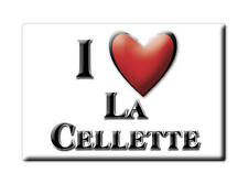 MAGNETS FRANCE - LANGUEDOC ROUSSILLON AIMANT I LOVE LA CELLETTE  (CREUSE)