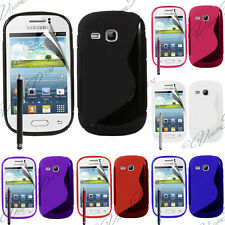 Carcasa TPU silicona Samsung Galaxy Young S6310 Duos S6312 GT-S6310L