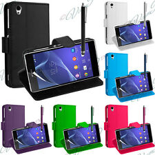 Accessorio Portfolio Di Custodia Cover Guscio Supporto Video Serie Sony Xperia Z