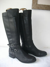 WORN ONCE M&S AUTOGRAPH KNEE LENGTH BIKER BOOTS SIZE 5.5 UK EXCELLENT CONDITION