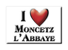 MAGNETS FRANCE - CHAMPAGNE ARDENNE AIMANT I LOVE MONCETZ L'ABBAYE (MARNE)