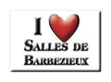 MAGNETS FRANCE - BASSE NORMANDIE AIMANT I LOVE SALLES DE BARBEZIEUX (CHARENTE)