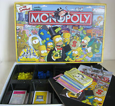Monopoly Simpsons Edition by Parker with pewter tokens