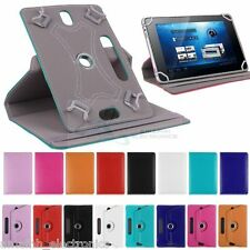 """7 """" Inch Universal 360 Degree Book Flip Case Cover for Tablet Phablet Tab Phone"""