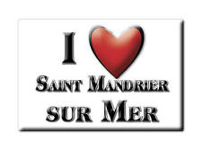 MAGNETS FRANCE - LIMOUSIN SOUVENIR AIMANT I LOVE SAINT MANDRIER SUR MER (VAR)