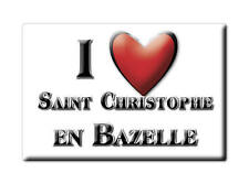 MAGNETS FRANCE - LANGUEDOC ROUSSILLON I LOVE SAINT CHRISTOPHE EN BAZELLE (INDRE)
