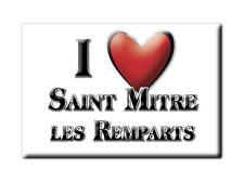 MAGNETS FRANCE - LANGUEDOC ROUSSILLON I LOVE SAINT MITRE LES REMPARTS (BOUCHES D