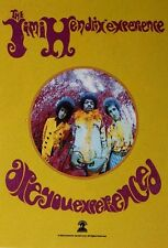 # JIMI HENDRIX - ARE YOU EXPERIENCED LOGO - OFFICIAL TEXTILE POSTER FLAG