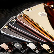 Luxury Aluminum Ultra-thin Mirror Metal Shockproof Case Cover for IPhone 6/6S