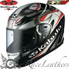 KABUTO OGK FF-5V VIENTO BLACK MOTORCYCLE MOTORBIKE BIKE RACE RACING HELMET