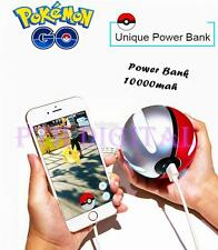 Pokemon Go Pokeball PowerBank 10000mAh LED Light Charger Battery Power