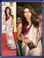 Saree Exclusive Beautiful Designer Bollywood Indian Saree Fabric Party  Sari 1