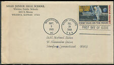 USA First Man On The Moon Apollo 11 FDC As Per Scan.