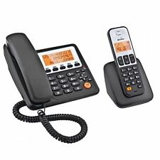 Binatone Concept Combo 3505 Dect Big Button Corded & Cordless Telephone New