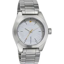 FASTRACK SEMI FORMAL WHITE DIAL ANALOG WATCH FOR MAN 3110sm01
