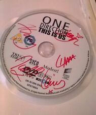 Hand signed One Direction DVD 'This Is Us'