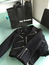 Blouson Laine Style Perfecto The Kooples Taille S