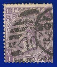 1869 SG108 6d Dull Violet (No Hyphen) Plate 8 IH Good Used London Diamond 105