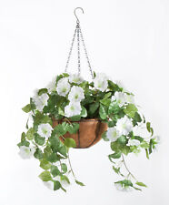 Fully Assembled Petunia Hanging Basket by OakRidgeTM Outdoor