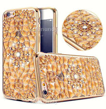 Luxury Ultra Thin Crystal Diamond Bling Soft Gel Back Case Cover For iPhone 6 6s