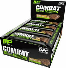 Musclepharm Combat Crunch PROTEIN BARS x 12 Bars - FREE UK DELIVERY