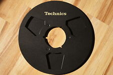 "2x Technics NAB metal empty reels 10.5"" 26.5cm Aluspulen A for Akai adapter"