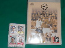 ALBUM PANINI CHAMPIONS LEAGUE LA FINALE + SET COMPLET very good condition