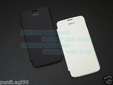 Flip Cover Case Hard Back For Xolo Q1000 Only