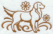 DOG TOWEL   EMBROIDERED     4 COLOURS 12 BREEDS  BNWOT GOLDEN  RETRIEVER