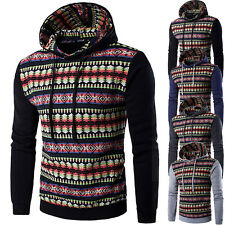 Felpa Uomo con Cappuccio Maglia Abstract Diamond Men Hoodie Sweatshirt hd140