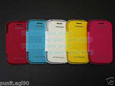 Flip Cover Case Hard Back For Samsung Galaxy Young Duos S6312 S6310