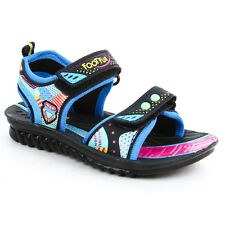 Liberty  Footfun Blue FLOATERS Velcro Boys Sandal  (PHANTOM-1 N.BLUE)