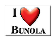 SOUVENIR USA - PENNSYLVANIA FRIDGE MAGNET I LOVE BUNOLA (ALLEGHENY COUNTY)