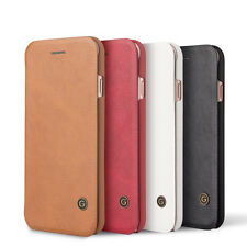 "5.5"" Luxury PU Leather Wallet Card Holder Flip Case Cover Skin for iPhone 7"