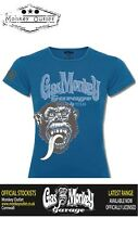 Gas Monkey Garage Ladies Blue Tonal t-shirt