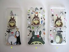 Studio Ghibli Totoro Soft iPhone Case Cover Protector with Removable Kickstand