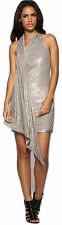 KAREN MILLEN Limited Ed Neutral Sequin Tunic ladies Dress Evening Cocktail Party