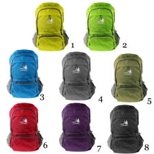 Waterproof Nylon Outdoor Hike Travel Backpack Foldable Climbling Rucksack