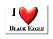 SOUVENIR USA - MONTANA FRIDGE MAGNET I LOVE BLACK EAGLE (CASCADE COUNTY)
