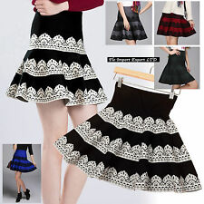 Mini Gonna Donna Vita Alta Autunno High Waist Autumn Fall Mini Skirts 130027
