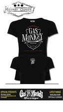 Gas Monkey Garage Ladies Wrench black t-shirt