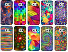 SAMSUNG GALAXY S6 Edge  ( Color Pattern )  PRINTED DESIGN HARD BACK CASE COVER