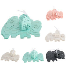 Pack of 25 Cut Out Ribbon Candy Gift Box Baby Shower Favor Wedding Party Decors