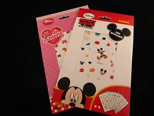 Vibrant Disney Mickey Mouse & Friends or Minnie Mouse Stickers..... 700!
