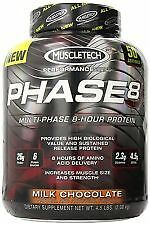 MuscleTech, Phase - 8 Whey Protein, 4.6 Lbs Contact seller for flavor
